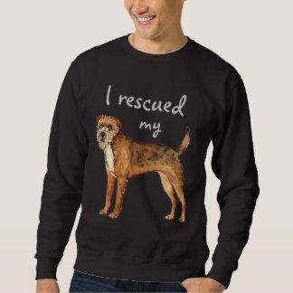 Rettungs-Grenze Terrier Sweatshirt