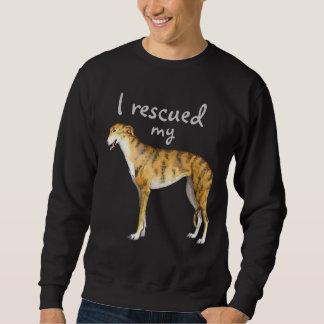 Rettungs-Windhund Sweatshirt