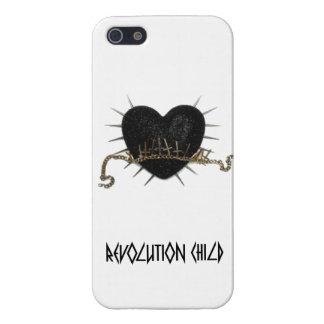 Revolution Child iPhone Hülle 5/5s Glänzend iPhone 5 Schutzhülle
