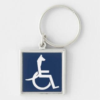 Rex Rollstuhl Keychain Schlüsselanhänger