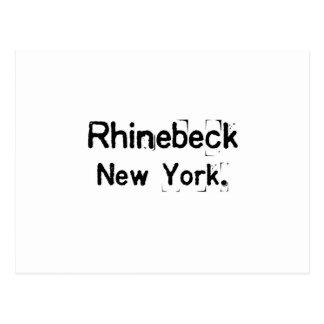 rhinebeck New York schmutzig Postkarte