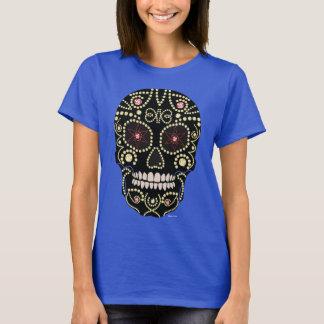 Rhinestone-Diamant-Schädel-Entwurfs-T-Shirt T-Shirt