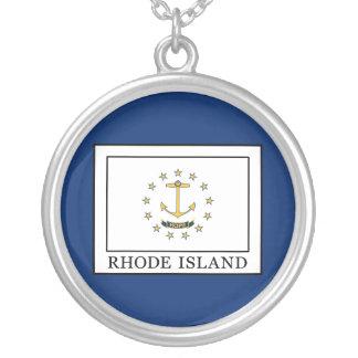 Rhode Island Versilberte Kette