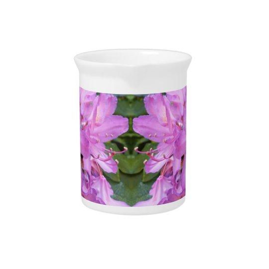 Rhododendron-Blumen-Krug Getränke Krug