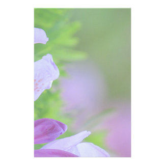 Rhododendron nach dem Regen Briefpapier