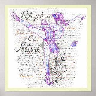 Rhythmus des Naturplakats VON 8,99 Poster