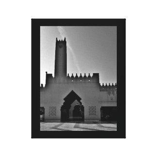 Riad-Moschee Leinwanddruck