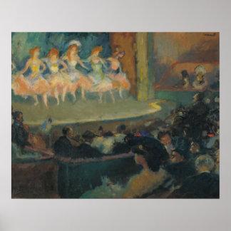 Ricard Kanäle - Café-Konzert Poster
