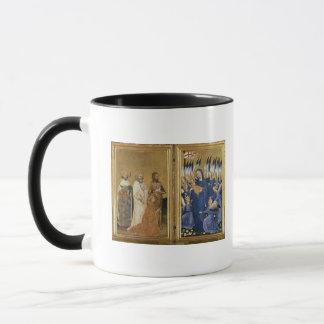 Richard II dargestellt der Jungfrau und dem Kind Tasse