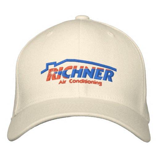 Richner Luft-Hut gestickt - 1 Besticktes Baseballcap