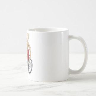 RidingRedWheelchair Kaffeetasse
