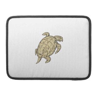 Ridley Schildkröte-Zeichnen Sleeve Für MacBook Pro