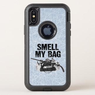 Riechen Sie meine Tasche (Hockey-Gestank) OtterBox Defender iPhone X Hülle