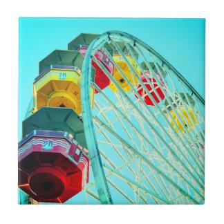 Riesenrad an Santa Monica Pier, Kalifornien Fliese