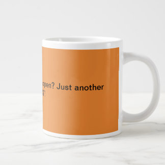 Riesiger Kaffee-Tassen-Büro-Geschenk-Spaß lustig Jumbo-Tasse