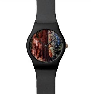 Riesiger Mammutbaum-Uhr Armbanduhr
