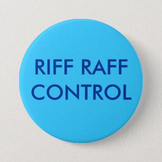 RIFF RAFFCONTROL RUNDER BUTTON 7,6 CM
