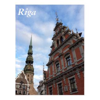 Riga, Lettland Postkarte
