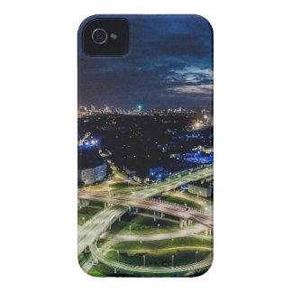 Riga-NachtSkyline iPhone 4 Hüllen