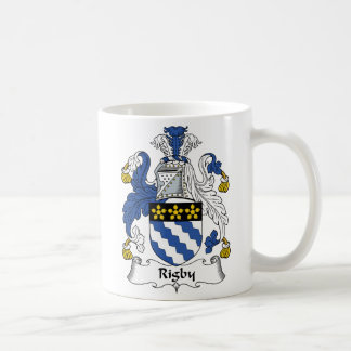 Rigby Familienwappen Kaffeetasse