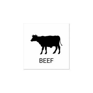 Rindfleisch-Hochzeits-Mahlzeit-Wahl Gummistempel
