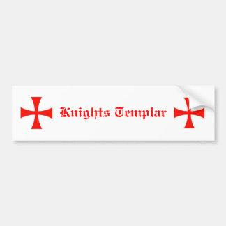 Ritter Templar Autoaufkleber
