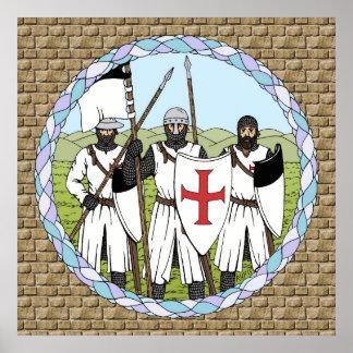 Ritter Templar Poster