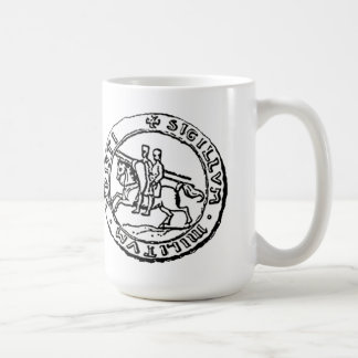 Ritter Templar Siegel Kaffeetasse