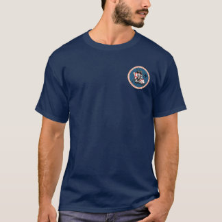 Ritter Templar zwei Ritter-Siegel-Shirt V2 T-Shirt
