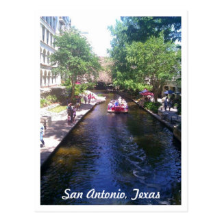 Riverwalk, San Antonio Postkarte