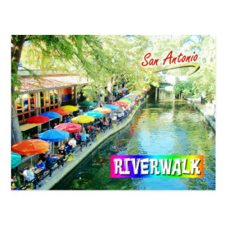 Riverwalk, San Antonio, Texas Postkarte