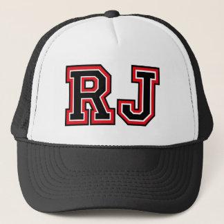"""""""RJ"""" Monogramm Truckerkappe"""
