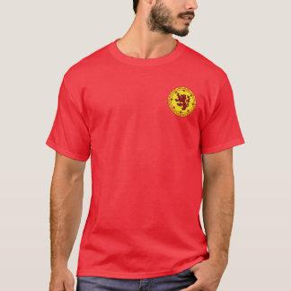 Robert das Brucerot-u. -goldSiegel-Shirt T-Shirt
