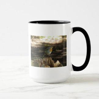 Robin-Holz Tasse