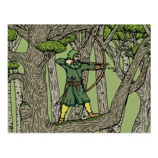 Robin Hood Postkarte