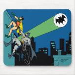 Robin und Batman-Aufstieg Mousepads