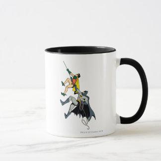 Robin und Batman-Aufstieg Tasse