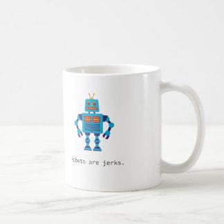 Roboter sind Ruck-Tasse Tasse