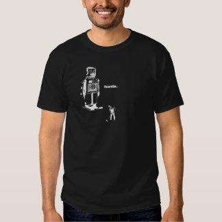 RoboterOverlords!!! Jetzt säubern Sie den Boden Tshirt