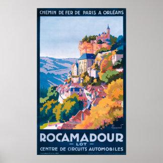Rocamadour Vintages Reise-Plakat Poster
