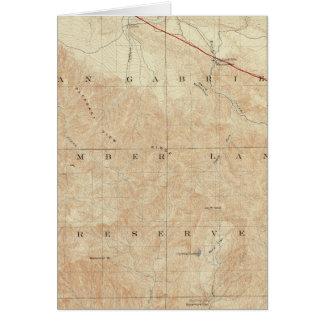 Rock- Creekviereck, das San- Andreasriß zeigt Karte