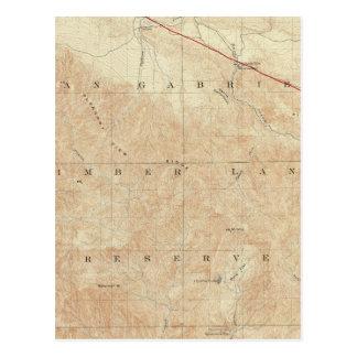Rock- Creekviereck, das San- Andreasriß zeigt Postkarte