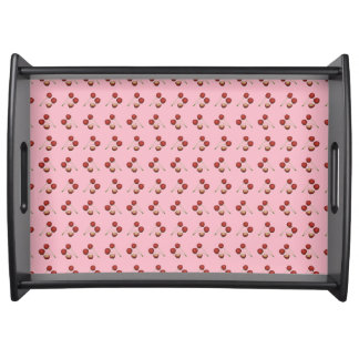Rockabilly KirschServiertablett Tablett