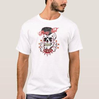 Rockabilly Schädel T-Shirt