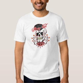 Rockabilly Schädel Tshirt