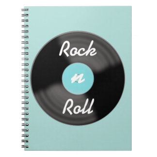 Rock'n'Roll-Rekordnotizbuch Notizbücher