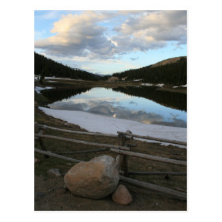 Rocky Mountains, Colorado-Postkarte Postkarte