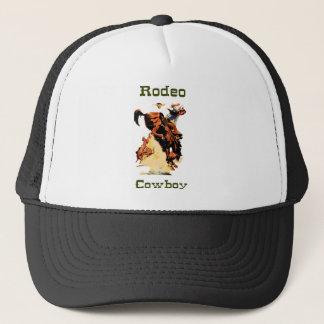Rodeo-Cowboy-Baseball-Mütze Truckerkappe