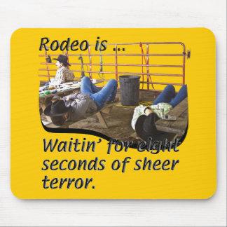 Rodeo-Definiert Mousepad