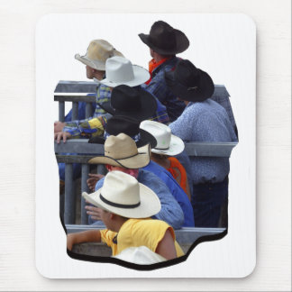 Rodeo - Stier-Beobachter Mousepad
